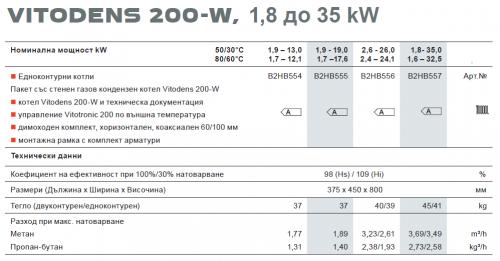 Viessmann Vitodens 200