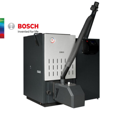Котел на пелети комлект Bosch