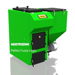 Котел на пелети и биомаса Kostrzewa Pellets Fuzzy Logic