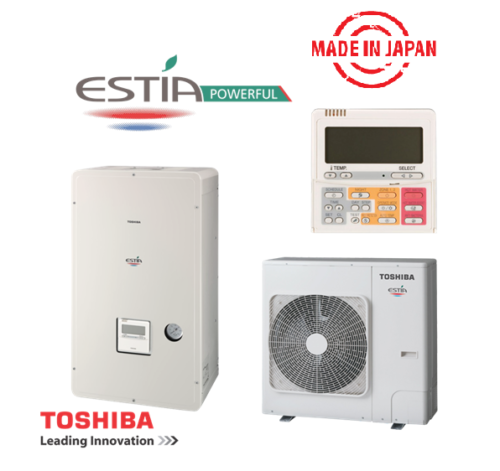 Toshiba Estia инверторна термопомпа