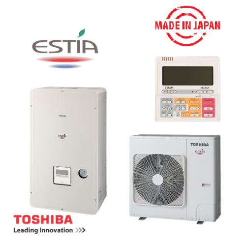 Инверторна термопомпа Toshiba Estia