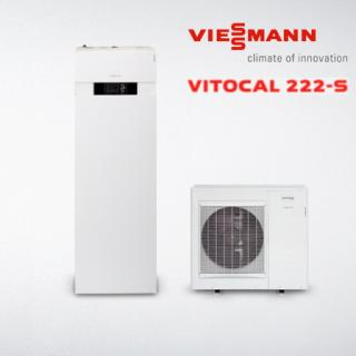 Термопомпи въздух/вода Vitocal 222-S/