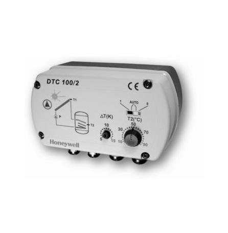 HONEYWELL, Диференциален термостат за слънчеви системи DTC100/2