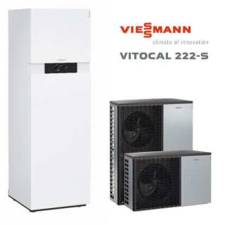 термопомпа Viessmann Vitocal 222S